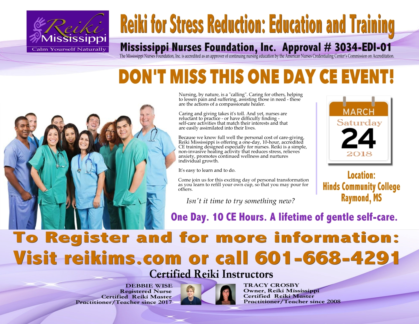 About The Nurses Reiki Self Care Training Class Reiki Mississippi