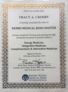 TACROSBY RKMRI Medical Reiki Certification
